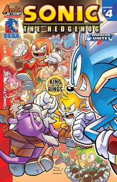 Cover art to Sonic The Hedgehog #271Released today!Upcoming releases schedule: http://pastebin.com/DNX4CDAS