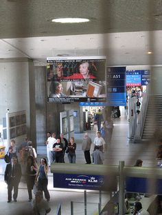 Paris Airport Wayfinding by brunoboris, via Flickr