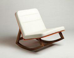 Orange Chair by Lagomorph Design