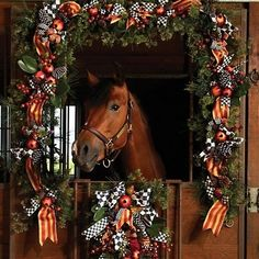 Stall Decorations - my horse would destroy this!