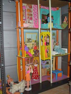 Barbie house town | Flickr - Photo Sharing!