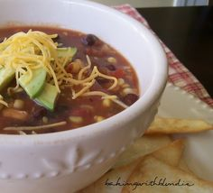 Baking with Blondie : Crock Pot Southwestern Taco Soup
