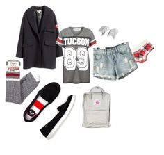 """""""10/04/15"""" by undercoverfashionspy ❤ liked on Polyvore featuring Splendid, H&M, Project Social T, Roxy, LucyQ Designs and Fjällräven"""