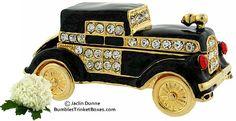 Trinket Box: Classic Black Car