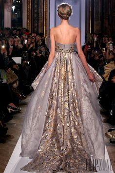 Zuhair Murad - Couture - Official pictures, S/S 2013 - http://www.flip-zone.net/fashion/couture-1/fashion-houses/zuhair-murad-3366