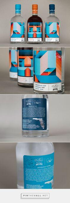 Bern's Limited Edition Spirits packaging design by Stevie & Fern - https://www.packagingoftheworld.com/2018/06/berns-limited-edition-spirits.html