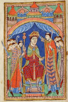 Coronation and Consecration | Miscellany on the life of St. Edmund | England, Bury St Edmunds | ca. 1130 | The Morgan Library & Museum