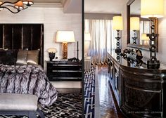 Celeb home - The home of Kris and Bruce Jenner...