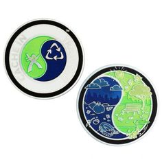 "2013 CITO Geocoin  $12.00 USD    The Cache In Trash Out (CITO) Geocoin symbolizes the ongoing commitment of the geocaching community to clean up parks and cache-friendly places around the world.    To learn more about Cache In Trash Out, visit the CITO website. .    This geocoin is trackable at www.geocaching.com with its own icon.    Size: 1.75""(4.5cm) round x 1/8""(3mm) thick"