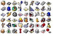 Computer Icon, Phone Icon, Box Icon, Windows 98, Iphone App Design, Pixel Phone, Phone Themes, Chroma Key, Old Computers