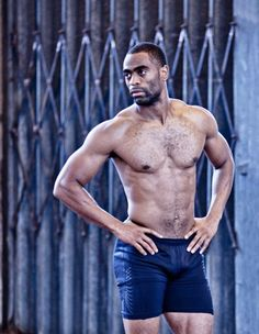 Olympic track and field sprinter Tyson Gay.what a man! Olympic Track And Field, Beautiful Men, Beautiful People, Man Crush, My Passion, Bad Boys, The Man, Olympics, Sexy Men
