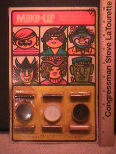 6248A.  Vintage 1970s Halloween Make-Up Set