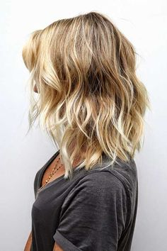 Highlighted Blonde Ombre Short Hair