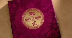 Year of the Dragon notecard set