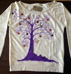 Camisetas - Sudadera árbol chica