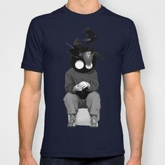 sitting, waiting, wishing T-shirt by Seamless - $18.00