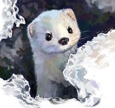 Очень милый арт от китайской художницы Xue Wawa