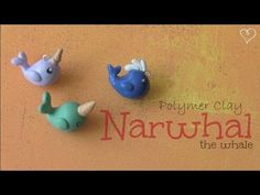DIY: Clay NARWHAL whale