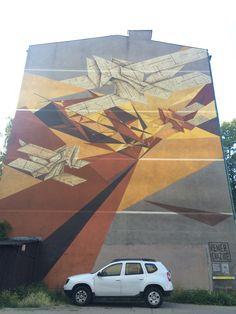 Pener & Hazme #mural #streetart #contemporaryart #trafficdesignfest #Gdynia