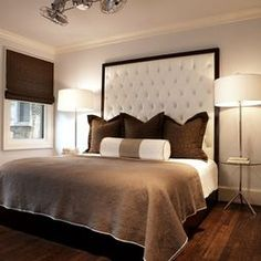 How To Make A Tufted Headboard Design, Pictures, Remodel, Decor and Ideas