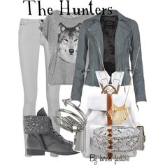 """The Hunters: Greek Maiden Followers of Artemis"" by heroes-fashion on Polyvore"