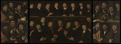Een groep schutters, 1529, Dirck Jacobsz., 1529