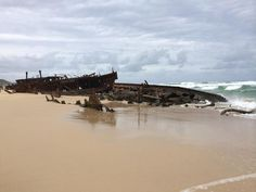 Share Your Pictures Of Stranded Ships Fraser Island Australia, Phillips Island, Abandoned Ships, Ghost Ship, Fort William, Paphos, Newfoundland And Labrador, Shipwreck, Tall Ships