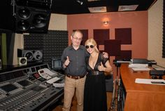 Nae Caranfil - the great romanian film director and screenwriter - and Loredana Groza - the great romanian singer, actress and judge at The Voice Romania at Ines Studios Screenwriter, Film Director, Romania, The Voice, Studios, Singer, Actresses, Artists, Movies