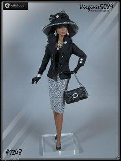 Tenue Outfit Accessoires Pour Fashion Royalty Barbie Silkstone Vintage 1248 | eBay