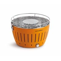 LOTUS GRILL BBQ in Mandarin Orange with Free Fire Lighter Gel I would love one of these!