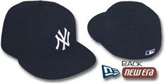 Yankees PERFORMANCE GAME Hat by New Era on hatland.com