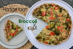 Hartige taart: Broccoli & Kip Savory Tart, High Tea, Soul Food, Avocado Toast, Clean Eating, Dinner Recipes, Brunch, Cooking Recipes, Yummy Food