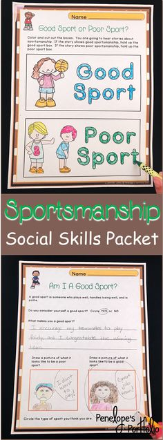 One Quick And Easy Game To Teach Good Sportsmanship Iheartspeech