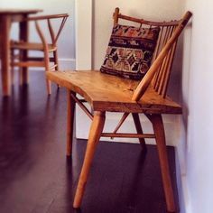 Handcrafted Bench by Samuel Moyer  Photo by theplatformexperiment