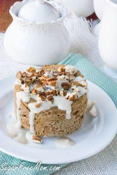 Sugar-Free Coffee Toffee Pecan Mug Muffin