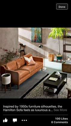 inspired by furniture silhouettes the hamilton sofa feels as luxurious as it looks now off during our leather seating sale