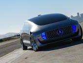The Mercedes-Benz F 015 concept looks beyond the mechanics of self-driving cars to explore how we'll interact with them once they're here.