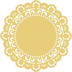 doily template
