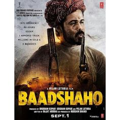 """Presenting the first look of 2nd badass Emraan Hashmi in """"Baadshaho"""". Directed by Milan Luthria. Releases on 1 Sept 2017. @filmywave  #Baadshaho #EmraanHashmi #AjayDevgn #MilanLuthria #poster #movieposter #firstlook #movie #film #celebrity #bollywood #bollywoodmovie #actor #actress #star #instalike #instacomment #instafollow #filmywave"""