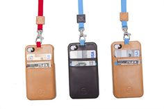 T8 STORM iPhone wallet case - three colour combinations