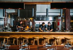 [6/16] FIREDOOR: 23-33 Mary Street Surry Hills > 140-plus-day-aged rib on the bone, menu changes regularly depending on suppliers, prices are market value reflecting what they are worth