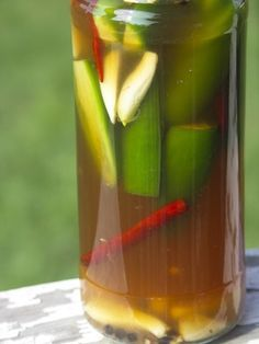 Pique (Puerto Rican Hot Sauce) Recipe - CaliRicans.com - possibly a variation on the sauce at Sol Food?  Need to try first