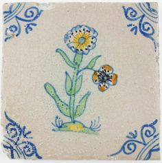 dating delft tiles