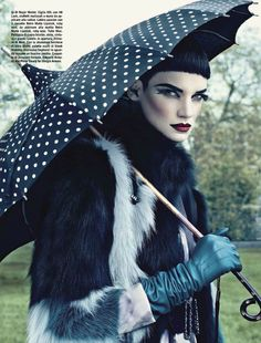 Beauty by Emma Summerton for Vogue Italia August 2012 1