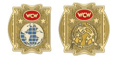 World Championship Wrestling, Gold Belts, Professional Wrestling, Porsche Logo