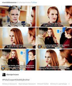 #Riverdale #Cheryl #Polly