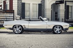 1969 Chevrolet Camaro SS350 Convertible by Andrey Moisseyev on 500px
