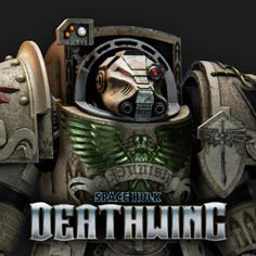 Space Hulk Deathwing - Terminator Nathum, Eddy Khaou on ArtStation at https://www.artstation.com/artwork/5Omw1