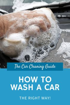Washing your car properly is essential in keeping your car looking great. This guide ensures your car is washed safely and thoroughly. Car Wash Soap, Washing Towels, Dish Detergent, Car Cleaning Hacks, Clean Your Car, Sparkling Clean, Car Detailing, Bath, Bathing
