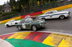Spa Six Hours Classic 2015 Start Race Onboard  / Grégory Paisse Triumph TR4